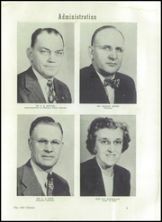 Page 7, 1950 Edition, Midland High School - Chemic Yearbook (Midland, MI) online yearbook collection