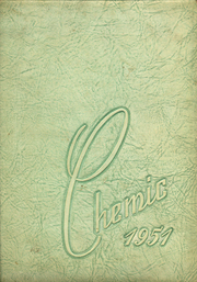 1951 Edition, Midland High School - Chemic Yearbook (Midland, MI)