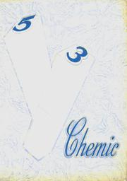 Page 1, 1953 Edition, Midland High School - Chemic Yearbook (Midland, MI) online yearbook collection