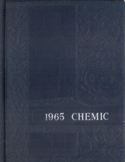1965 Edition, Midland High School - Chemic Yearbook (Midland, MI)