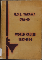Page 1, 1954 Edition, Tarawa (CVA 40) - Naval Cruise Book online yearbook collection