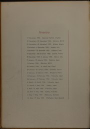 Page 12, 1954 Edition, Tarawa (CVA 40) - Naval Cruise Book online yearbook collection