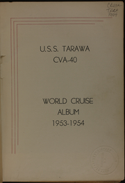 Page 5, 1954 Edition, Tarawa (CVA 40) - Naval Cruise Book online yearbook collection