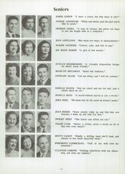 Page 16, 1949 Edition, Trenton High School - Monguagon Yearbook (Trenton, MI) online yearbook collection
