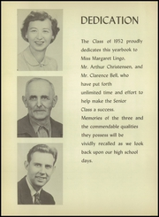 Page 6, 1952 Edition, Farmington High School - Rollcall Yearbook (Farmington, MI) online yearbook collection