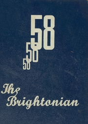 Page 1, 1958 Edition, Brighton High School - Brightonian Yearbook (Brighton, MI) online yearbook collection