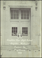 Page 5, 1958 Edition, Brighton High School - Brightonian Yearbook (Brighton, MI) online yearbook collection