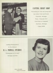 Page 114, 1955 Edition, Bentley High School - Pioneer Yearbook (Livonia, MI) online yearbook collection