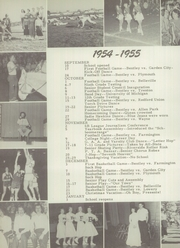 Page 122, 1955 Edition, Bentley High School - Pioneer Yearbook (Livonia, MI) online yearbook collection