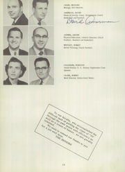 Page 18, 1955 Edition, Bentley High School - Pioneer Yearbook (Livonia, MI) online yearbook collection