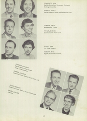 Page 19, 1955 Edition, Bentley High School - Pioneer Yearbook (Livonia, MI) online yearbook collection