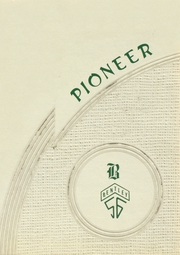 Bentley High School - Pioneer Yearbook (Livonia, MI) online yearbook collection, 1956 Edition, Page 1