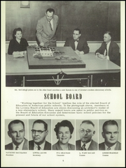 Page 10, 1956 Edition, Bentley High School - Pioneer Yearbook (Livonia, MI) online yearbook collection