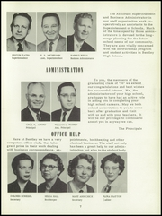 Page 11, 1956 Edition, Bentley High School - Pioneer Yearbook (Livonia, MI) online yearbook collection