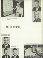 Page 15, 1956 Edition, Bentley High School - Pioneer Yearbook (Livonia, MI) online yearbook collection