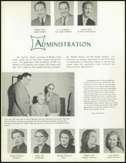 Page 12, 1957 Edition, Bentley High School - Pioneer Yearbook (Livonia, MI) online yearbook collection