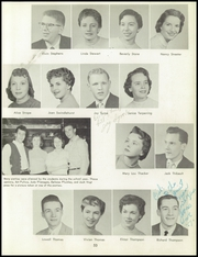 Bentley High School - Pioneer Yearbook (Livonia, MI) online yearbook collection, 1957 Edition, Page 57