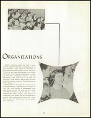 Page 75, 1957 Edition, Bentley High School - Pioneer Yearbook (Livonia, MI) online yearbook collection