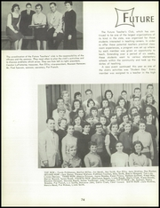 Page 78, 1957 Edition, Bentley High School - Pioneer Yearbook (Livonia, MI) online yearbook collection
