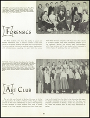 Page 85, 1957 Edition, Bentley High School - Pioneer Yearbook (Livonia, MI) online yearbook collection