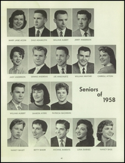 Page 45, 1958 Edition, Bentley High School - Pioneer Yearbook (Livonia, MI) online yearbook collection