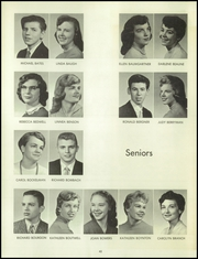 Page 46, 1958 Edition, Bentley High School - Pioneer Yearbook (Livonia, MI) online yearbook collection