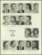 Page 49, 1958 Edition, Bentley High School - Pioneer Yearbook (Livonia, MI) online yearbook collection