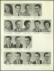 Page 50, 1958 Edition, Bentley High School - Pioneer Yearbook (Livonia, MI) online yearbook collection