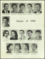 Page 51, 1958 Edition, Bentley High School - Pioneer Yearbook (Livonia, MI) online yearbook collection