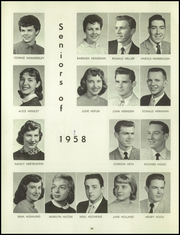 Page 52, 1958 Edition, Bentley High School - Pioneer Yearbook (Livonia, MI) online yearbook collection