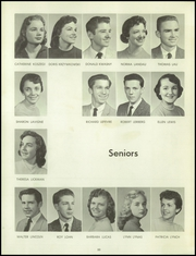 Page 54, 1958 Edition, Bentley High School - Pioneer Yearbook (Livonia, MI) online yearbook collection