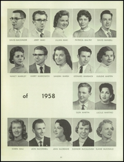 Page 55, 1958 Edition, Bentley High School - Pioneer Yearbook (Livonia, MI) online yearbook collection