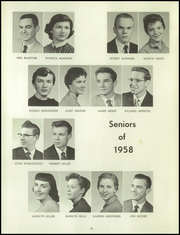 Page 56, 1958 Edition, Bentley High School - Pioneer Yearbook (Livonia, MI) online yearbook collection