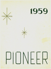 1959 Edition, Bentley High School - Pioneer Yearbook (Livonia, MI)