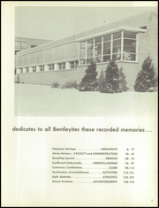 Page 9, 1959 Edition, Bentley High School - Pioneer Yearbook (Livonia, MI) online yearbook collection