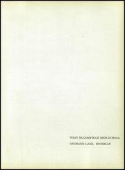Page 5, 1959 Edition, West Bloomfield High School - Torch Yearbook (Orchard Lake, MI) online yearbook collection