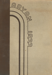 Page 1, 1933 Edition, Southeastern High School - Aryan Yearbook (Detroit, MI) online yearbook collection