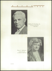Page 16, 1933 Edition, Southeastern High School - Aryan Yearbook (Detroit, MI) online yearbook collection