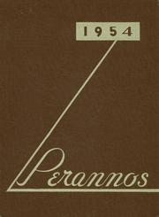 Flushing High School - Perannos Yearbook (Flushing, MI) online yearbook collection, 1954 Edition, Page 1