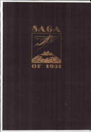 Creston High School - Saga Yearbook (Grand Rapids, MI) online yearbook collection, 1931 Edition, Page 1