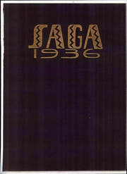 Creston High School - Saga Yearbook (Grand Rapids, MI) online yearbook collection, 1936 Edition, Page 1