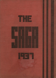 Creston High School - Saga Yearbook (Grand Rapids, MI) online yearbook collection, 1937 Edition, Page 1