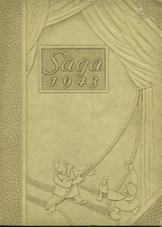 1943 Edition, Creston High School - Saga Yearbook (Grand Rapids, MI)