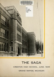 Page 5, 1945 Edition, Creston High School - Saga Yearbook (Grand Rapids, MI) online yearbook collection