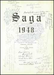 Page 5, 1948 Edition, Creston High School - Saga Yearbook (Grand Rapids, MI) online yearbook collection