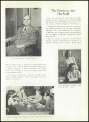 Page 9, 1948 Edition, Creston High School - Saga Yearbook (Grand Rapids, MI) online yearbook collection