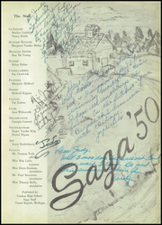 Page 5, 1950 Edition, Creston High School - Saga Yearbook (Grand Rapids, MI) online yearbook collection