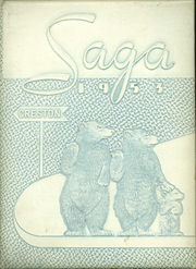 1953 Edition, Creston High School - Saga Yearbook (Grand Rapids, MI)