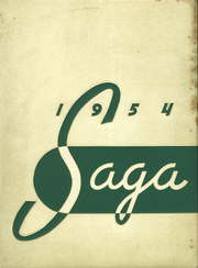 1954 Edition, Creston High School - Saga Yearbook (Grand Rapids, MI)