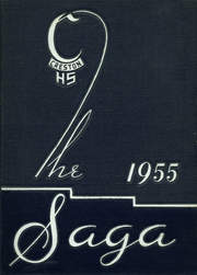 1955 Edition, Creston High School - Saga Yearbook (Grand Rapids, MI)